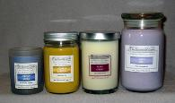 The Scented Castle-Soy Jar Candles