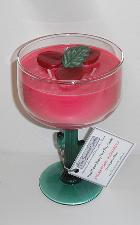 Strawberry Margarita Happy Hour Soy Candle