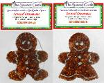 Scented Ornament Gingerbread Boy and Girl